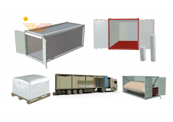 INSULATION OF CONTAINERS (THERMAL BLANKET, ISOKIT, FLEXITANK)
