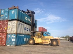 TRANSPORTATION OF MARITIME CONTAINERS